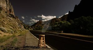 traveling stool in utah by heelandtoe