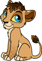 Lion Cub by JessiRenee