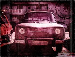 An old car by brankovukelic