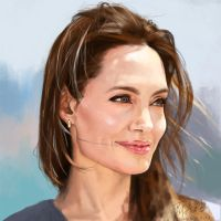 Angelina Jolie by buriedflowers