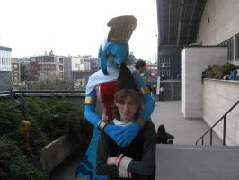Laruto and Fado cosplay by crimsontriforce