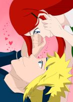 Minato and Kushina by sgw12