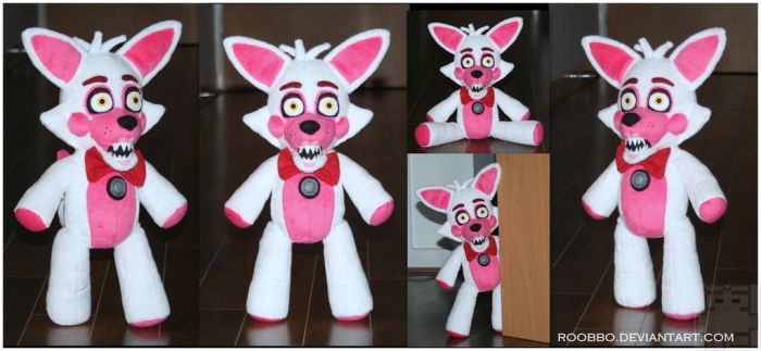 FNAF Sister Location - Funtime Foxy - Plush by roobbo
