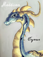 Teyniri my dragon by MaddisonCyrus