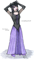 Sam's dress redesign by ladysugarquill