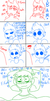 Tom x Tord comic by EsliumChick