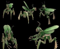 Spore Creation: The Mantis by Existent-effigy