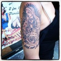 mother mary first sitting by Richroyalty