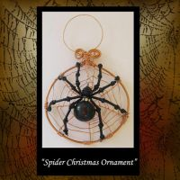Ornament Spider Christmas by KabiDesigns