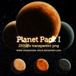 PNG Planet Pack 1 by oilusionista-stock