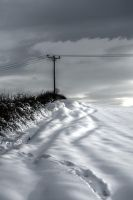 Moody Snow by johnwaymont
