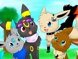 eevee request! by UmbreRoshia