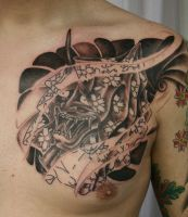 Hanya Blossom TaT 1 Session by 2Face-Tattoo