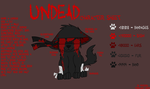 - Undead Character Sheet - by FlippyFanGirl