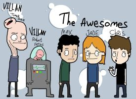 The Awesomes by LazyMuFFin