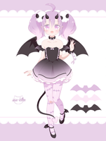 [Closed] Succubus Girl Adopt AUCTION by susukitten