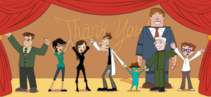 6.13.2015 Phineas and Ferb Curtain Call 2 by lizbomb