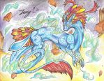 Commission for Frilly-Dragoness: Maja by Trucy757