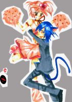 Amu X Ikuto- Mid air by mewgirl16