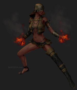 Fire Bender by blackzig
