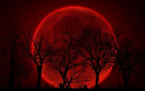 Bloody Red Moon by sphicx
