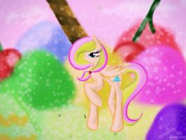 Commission: Sherbet Glider by AquaAngel1010