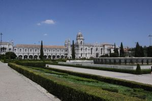 Monastery in Portugal by blacktigra