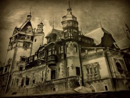 Peles Castle by Kaseelyn
