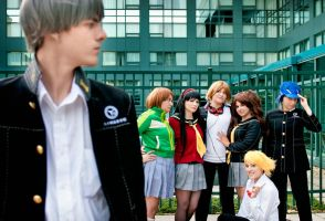 Persona 4: Yosuke's dream come true by BLUEsteelProductions