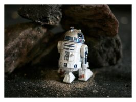 Star Wars Stills R2D2 Cave by PeppermintPuff