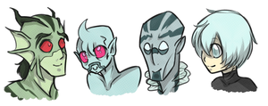 My fishie bois by BambooGecko
