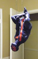 Spider-man 2099, side view by beastgrinder