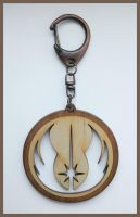 STAR WARS - wood keyring by Piciuu