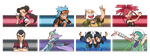 [Vs. Sprite] Hoenn Leaders by PoLlOrOn
