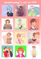 art of 2014 by MissLivYoung