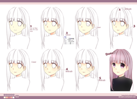 Skin Coloring Tutorial by KiranKira