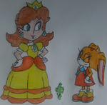 Daisy and Cream by TheOneAndOnlyCactus