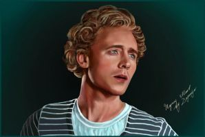 Tom Hiddleston by Dagomeja