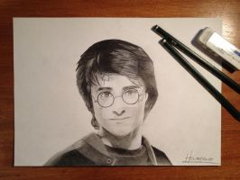 Realistic Harry Potter by ManciniLand