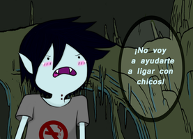 Marshall Lee - Blushing - by Tara-Daphor