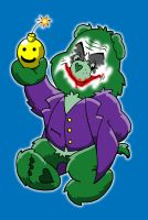 joker care bear revised face by yayzus