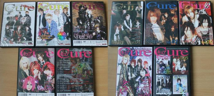Visual Kei dvds from Japan by TheKarelia