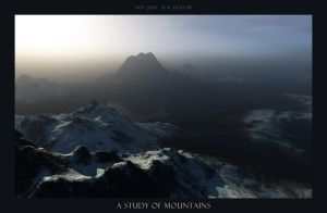 A Study of Mountains by oggyb