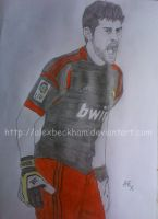 Iker Casillas by AlexBeckham