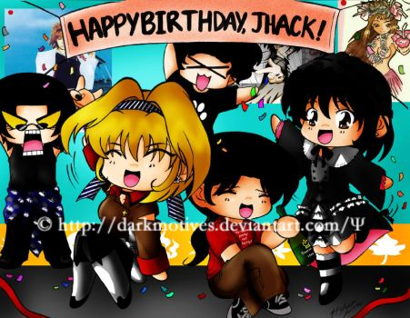 Colored: B-day Gift for Jhack by darkmotives