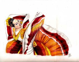 mexican dancer by winstonscreator