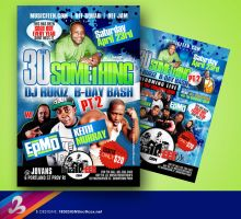 30 SOMETHING FLYER by AnotherBcreation