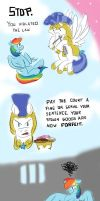 Rainbow Dash's Wedding Preparations by CrownePrince