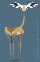 Daily Design: Gerenuk by sketchinthoughts
