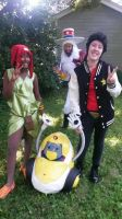 Space Dandy Group Cosplay part 1 by DuBsTePLIFE